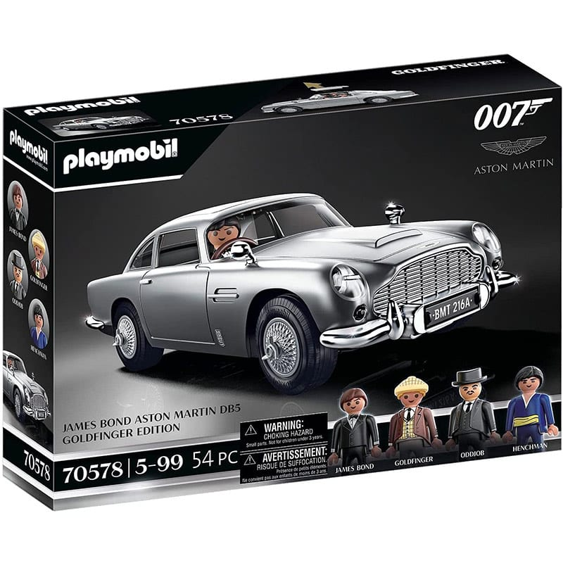 "Playmobil ""James Bond Aston Martin DB5"" Goldfinger Edition | ab Oktober 2021"