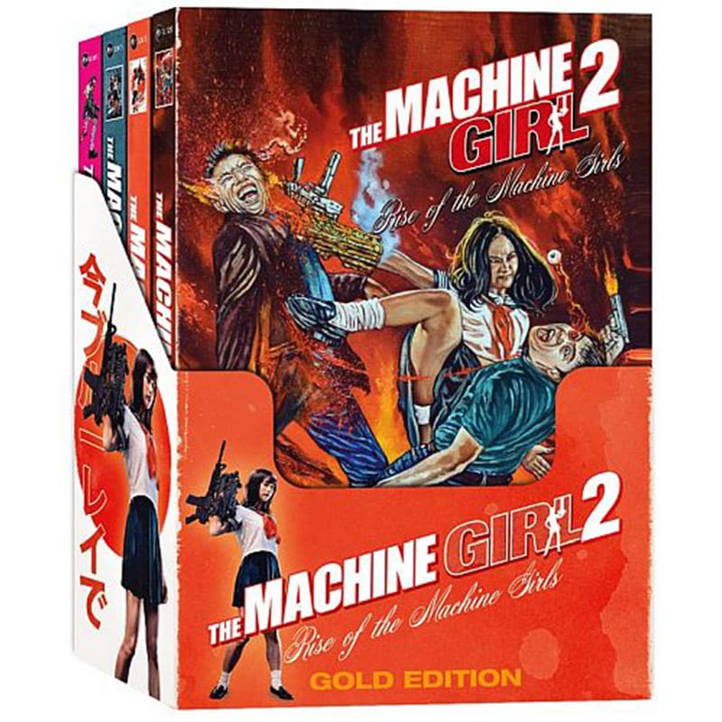 """""""The Machine Girl 2"""" ab Oktober als limitierte Gold Edition und 3 Mediabooks – Update"""