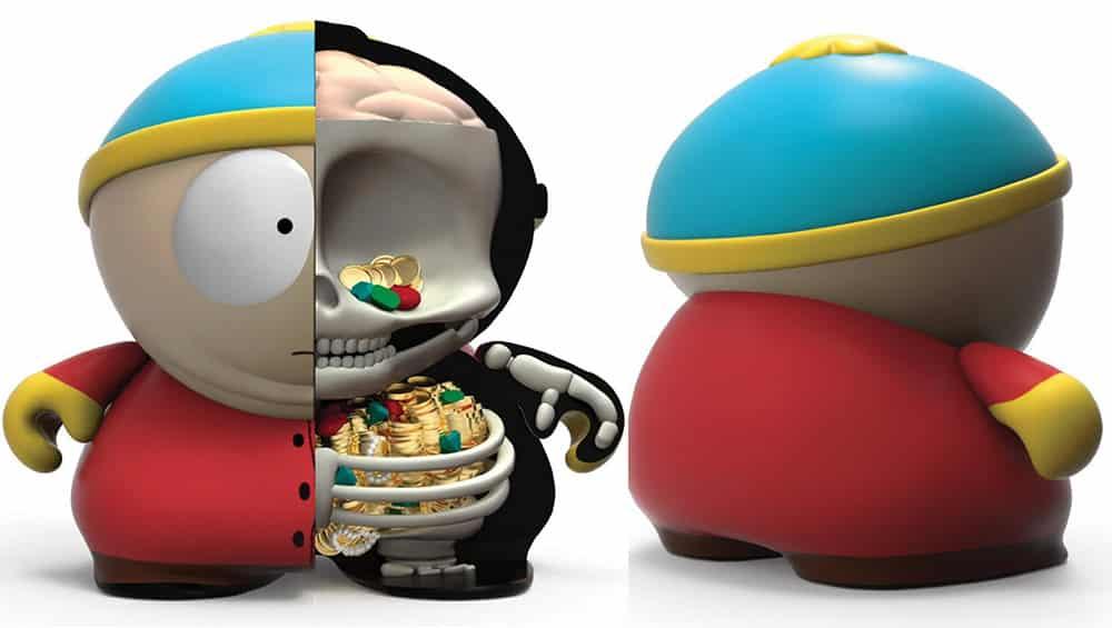 South Park: Anatomy Cartman 8″ Figur von Kidrobot | ab Juni 2022
