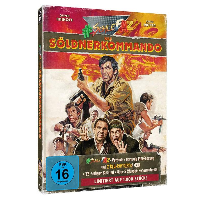 "SchleFaZ ""Das Söldnerkommando"" ab Oktober 2021 im Blu-ray Mediabook"