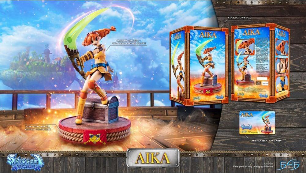 Skies of Arcadia: Aika 38 cm Statue von First4Figures | ab 3. Quartal 2022