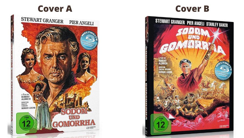 """Sodom und Gomorrha"" ab Dezember 2021 in 2 Blu-ray Mediabooks"