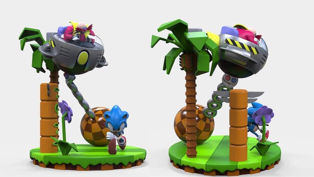 Sonic The Hedgehog Sonic & Dr. Eggman 30th Anniversary Limited Edition Statue von Numskull für 80,87€