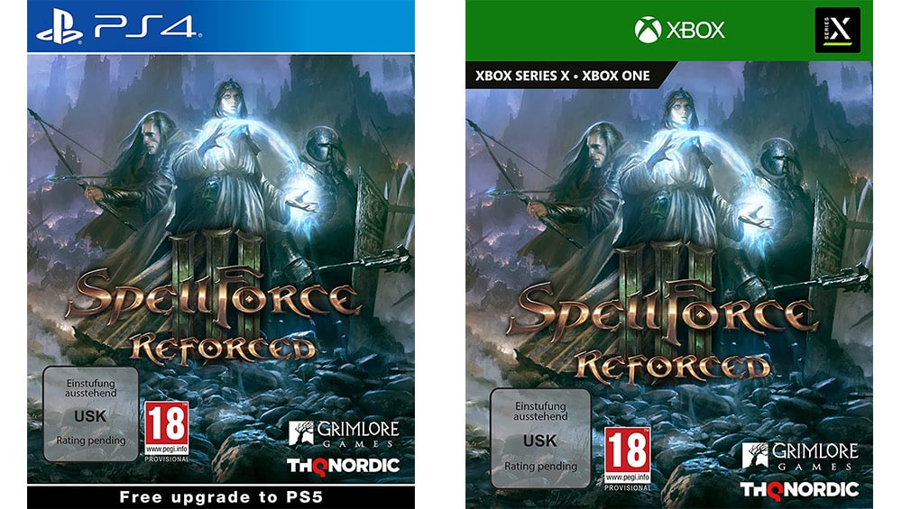 """SpellForce III Reforced"" ab Dezember für die Playstation 4 & Xbox One/ Series X"