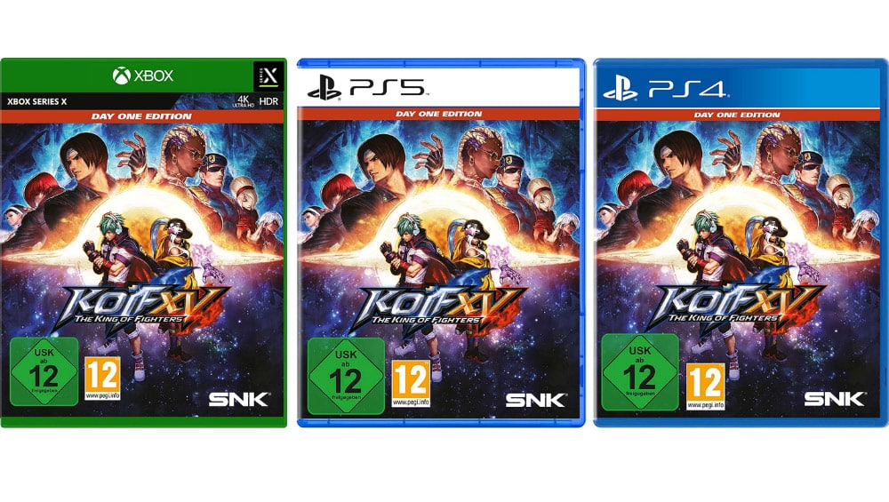 """""""The King of Fighters XV"""" Day One Edition ab Februar 2022 für die Playstation 4/5 & Xbox One/ Series X"""