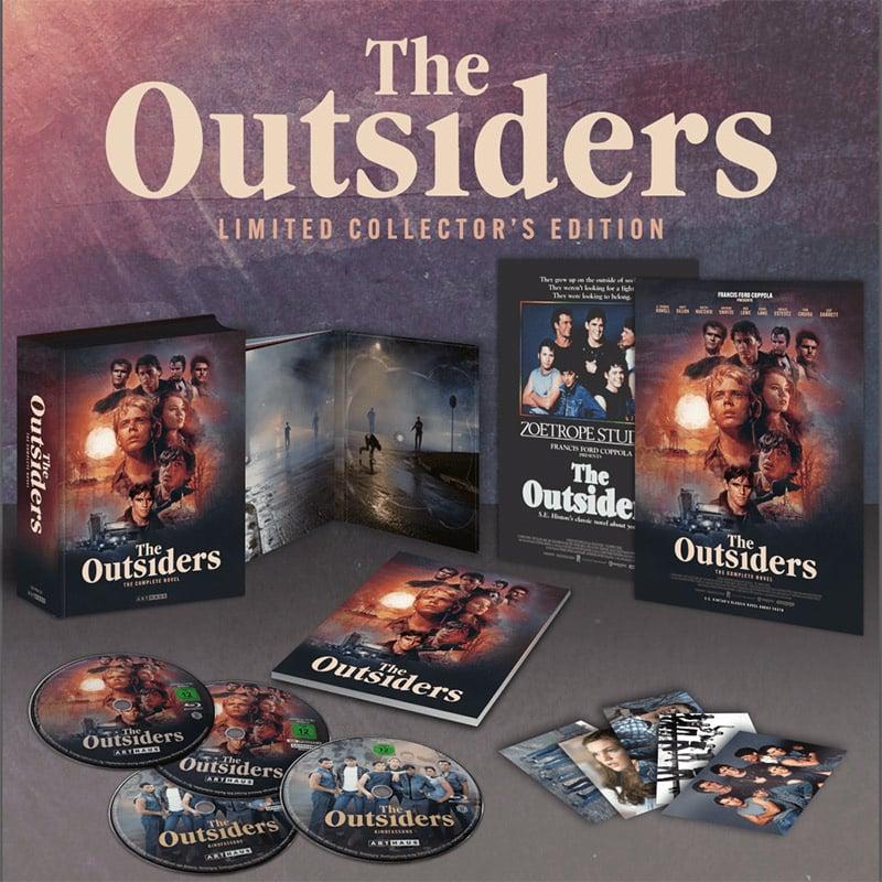 """""""The Outsiders"""" ab November als 4K Limited Edition und in den Standard Varianten auf Blu-ray und DVD"""