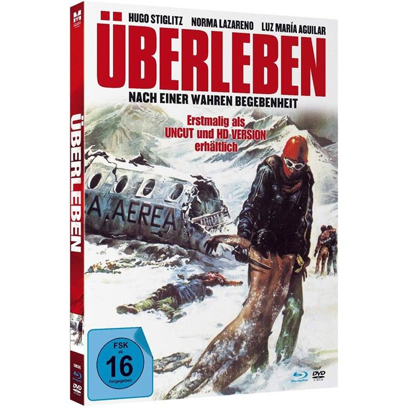 """""""Überleben (1976)"""" im Blu-ray Mediabook für 15,98€"""