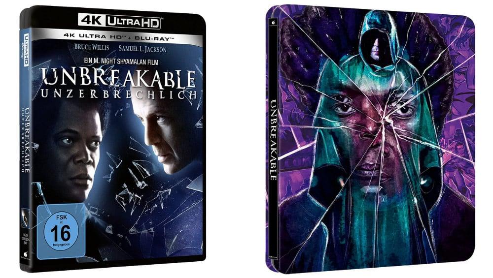 """Unbreakable"" ab November im 4K Steelbook (UK/ US/ ES/ FR) – 4K Standard Variante in Deutschland   Update3"