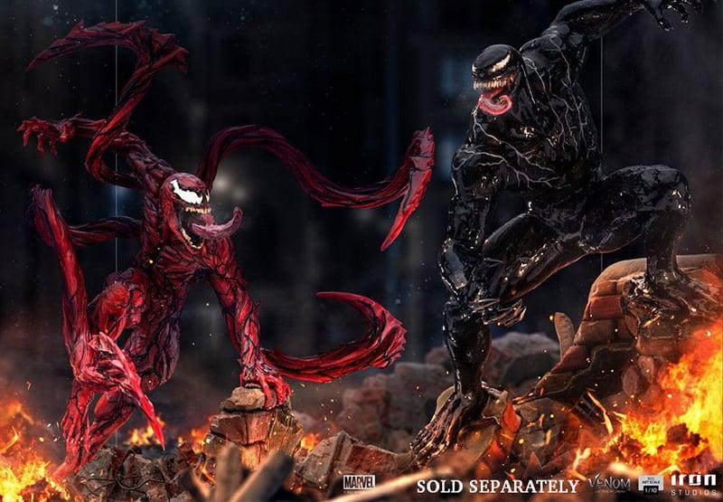 Venom: Let There Be Carnage – Venom & Carnage 1/10 Art Scale Statuen von Iron Studios | ab 3. Quartal 2022