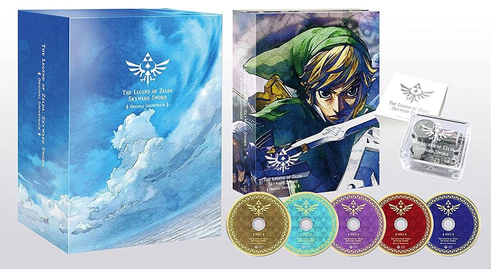 """""""Zelda : Skyward Sword HD"""" Original Soundtrack als Limited Edition"""