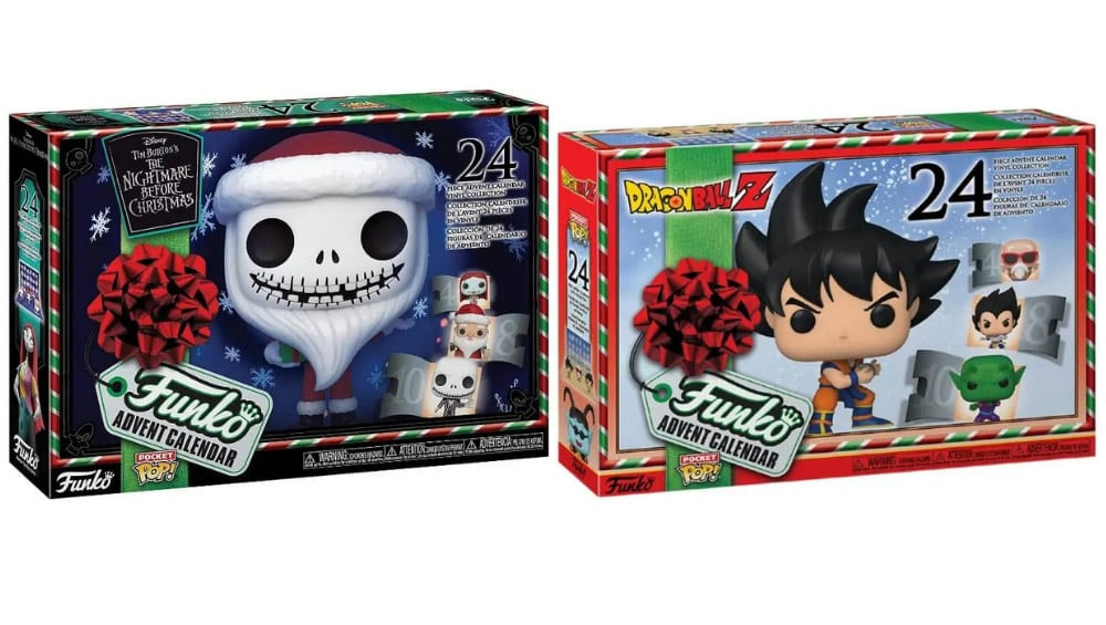 """Dragon Ball Z"" und ""Nightmare Before Christmas"" Funko POP! Adventskalender für je 40,94€"