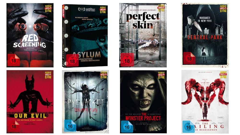 20% Rabatt auf ausgewählte Horror Titel im Alamode Film Shop