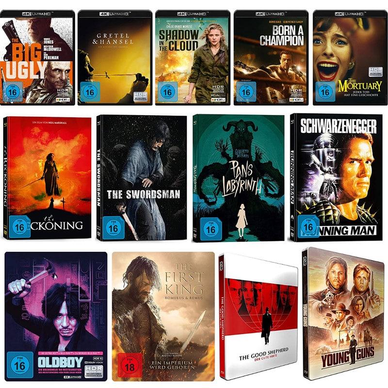 Alive AG: Filme & Serien bei Amazon reduziert – unter anderem mit Steelbooks ab 7,97€ oder 4K UHDs für je 14,97€ | Aktion endet bald