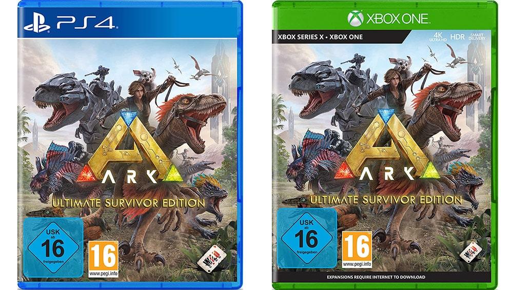 """""""ARK: Ultimate Survivor Edition"""" ab November für Playstation 4 und Xbox One/ Series X"""