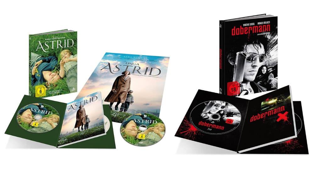 """Astrid"" & ""Dobermann"" ab Dezember jeweils im Blu-ray Mediabook – Update2"