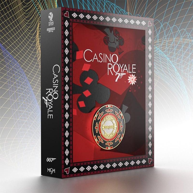 """James Bond 007 – Casino Royale"" erscheint im Titans of Cult 4K Steelbook Set (UK/ FR/ DE/ IT) – Update3"