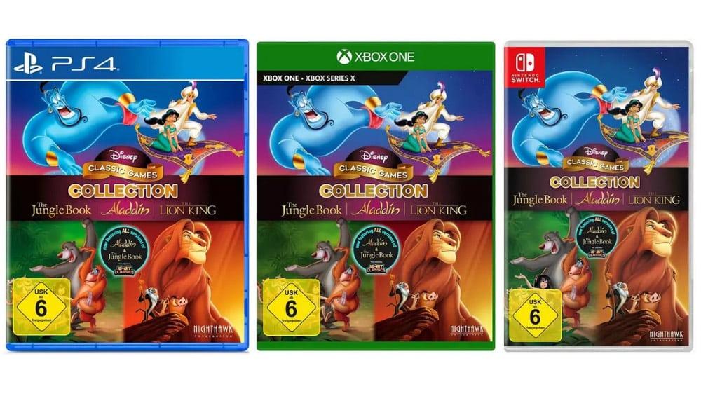 """""""Disney Classic Games Collection"""" ab November für die Playstation 4, Xbox One und Nintendo Switch"""