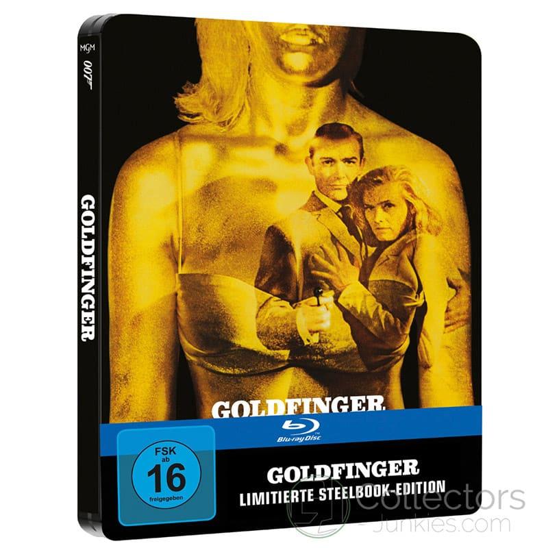 """James Bond 007 – Goldfinger (1964)"" ab Dezember 2021 im Blu-ray Steelbook – Update2"