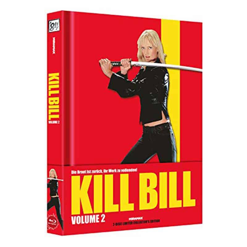 """Kill Bill: Vol. 2"" im wattierten Mediabook Cover A für 27,16€"