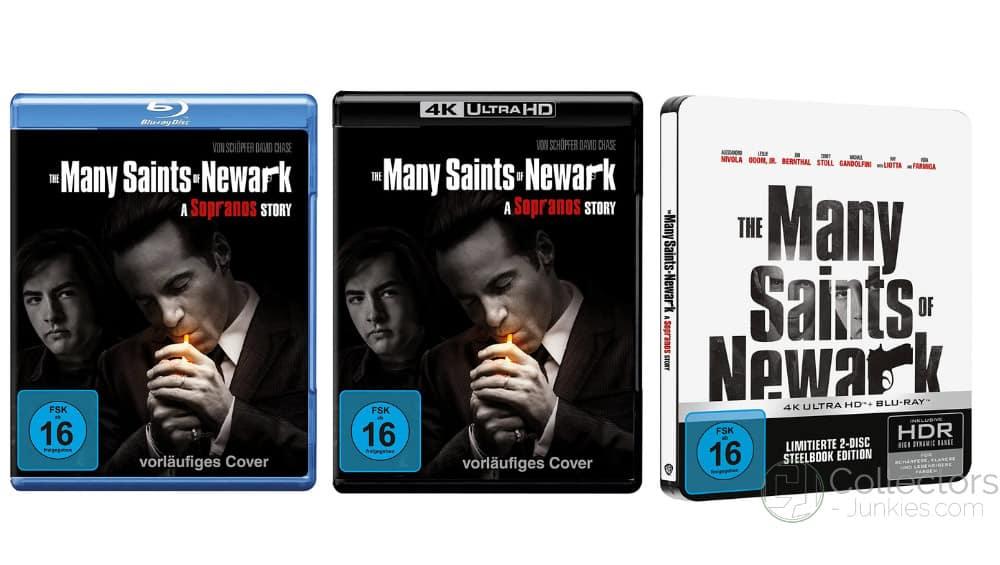 """""""The Many Saints of Newark (2021)"""" ab Dezember im 4K Steelbook sowie als Standard Varianten auf 4K UHD, Blu-ray & DVD – Update2"""