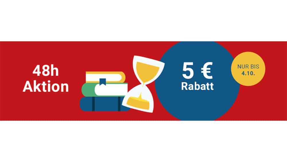 5€ Rabatt ab 25€ Mindestbestellwert auf gebrauchte Ware bei Medimops
