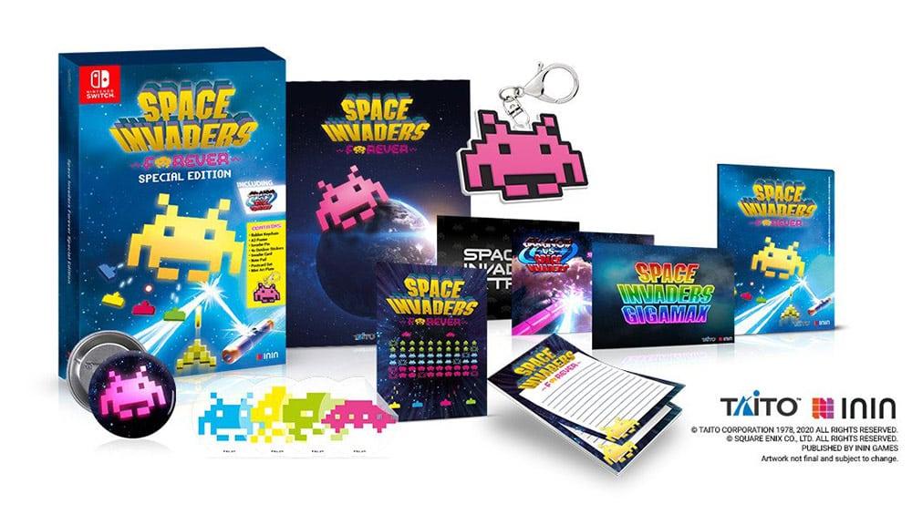 """Space Invaders Forever"" ab Dezember als Special Edition für die Nintendo Switch – Update2"