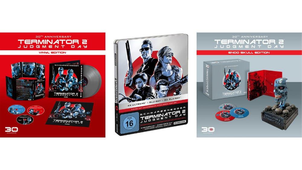 """Terminator 2"" Vinyl Edition, Endo Skull & im 4K Steelbook (DE/ UK/ FR) | ab Dezember 2021 – Update5"