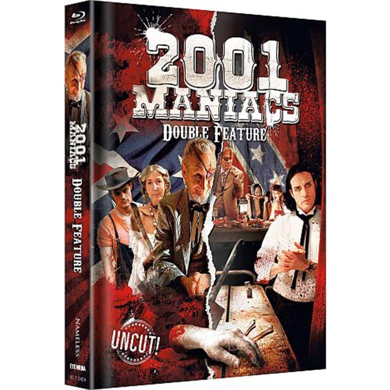 """2001 Maniacs Double Feature"" ab November 2021 im Blu-ray Mediabook"