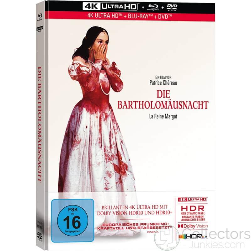 """Die Bartholomäusnacht"" im 4K Mediabook inkl. Blu-ray & Bonus DVD"