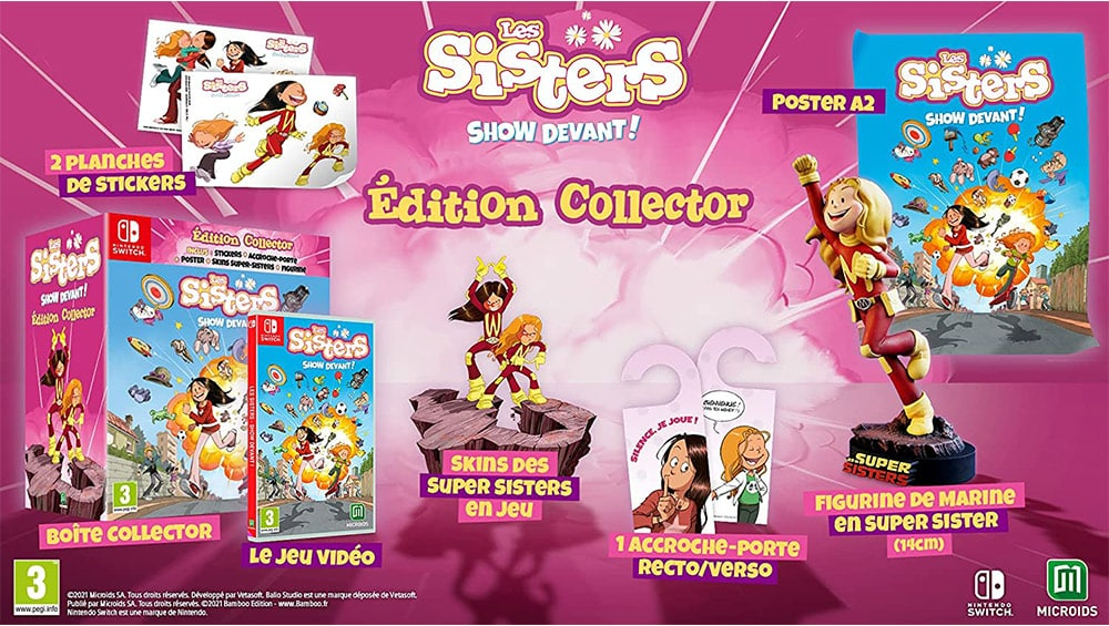 """""""The Sisters: Party of the Year"""" Collectors Edition ab November für die Nintendo Switch"""