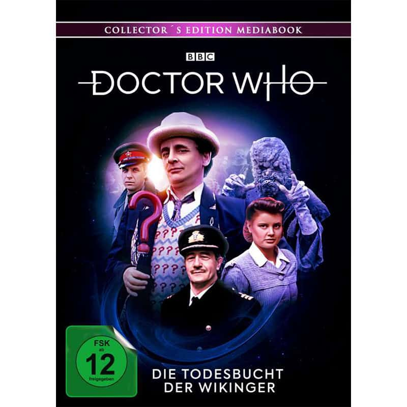 """Doctor Who – Siebter Doktor: Die Todesbucht der Wikinger"" ab Dezember 2021 im Blu-ray Mediabook"