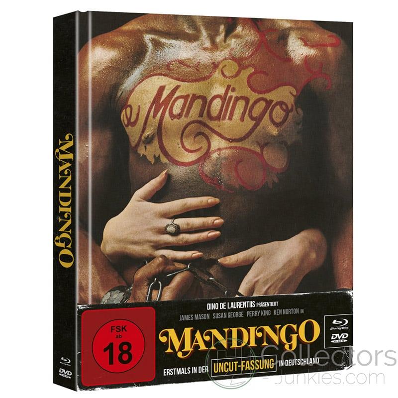 """Mandingo"" ab November 2021 im Blu-ray Mediabook – Update"