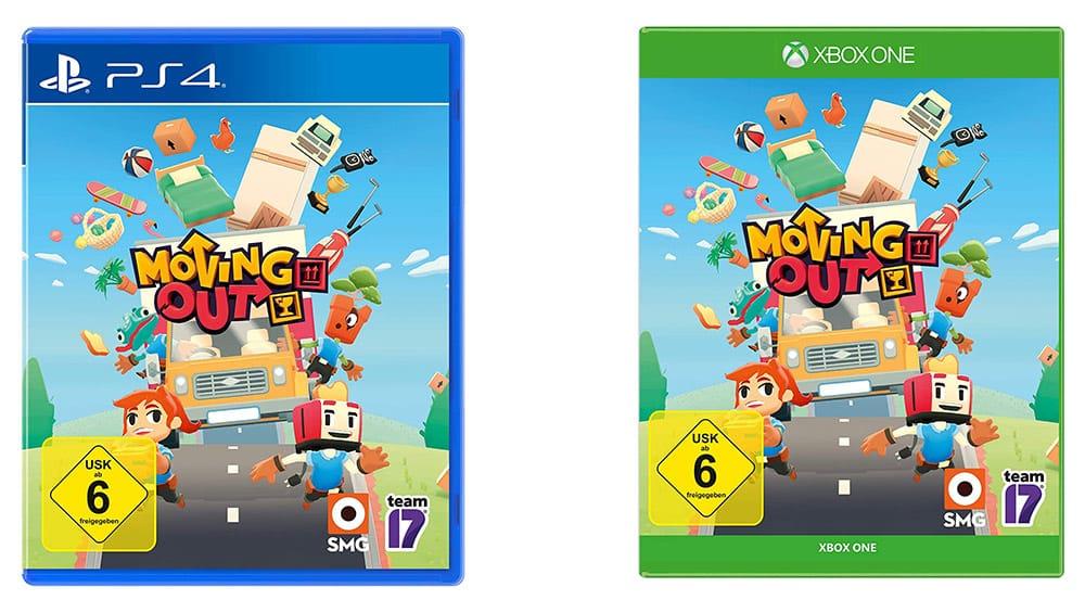 """""""Moving Out"""" für die Playstation 4 und Xbox One für je 12,99€"""