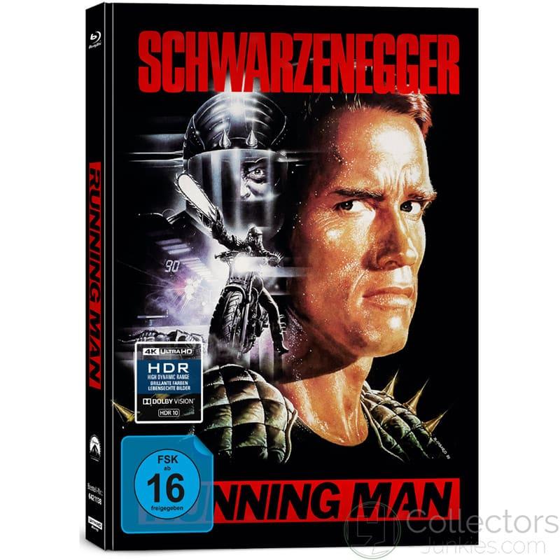 """""""Running Man"""" im 4K Mediabook inkl. neuem 4K Transfer"""