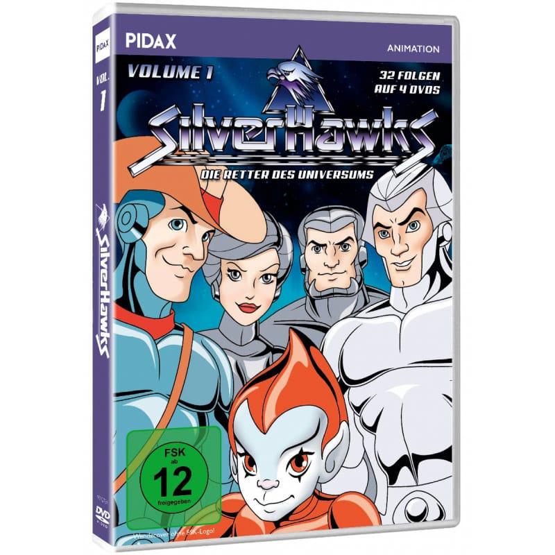"""SilverHawks – Die Retter des Universums"" erstes Volume ab Januar 2022 auf DVD"