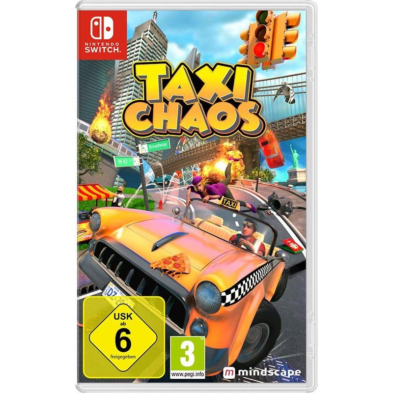 """""""Taxi Chaos"""" für die Nintendo Switch für 22,99€"""