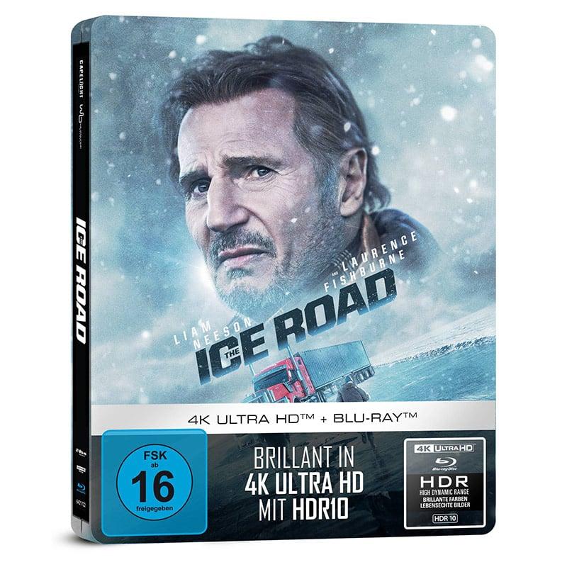 """""""The Ice Road"""" ab Dezember 2021 im 4K Steelbook und als Standard Varianten auf Blu-ray & DVD – Update2"""