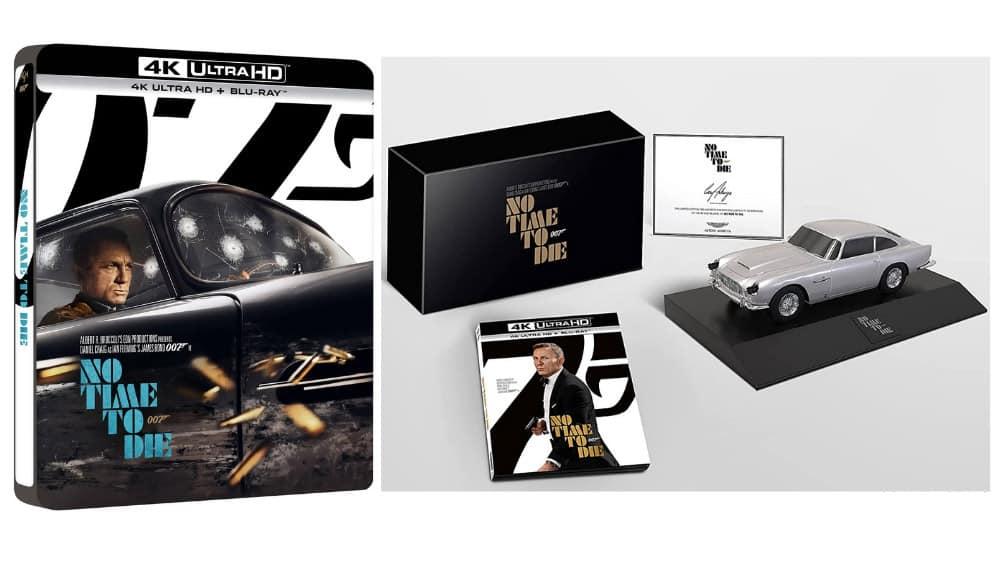 """""""James Bond 007 – Keine Zeit zu sterben"""" im 4K Steelbook, Blu-ray Digibook, Special Edition & weitere Varianten – Update7"""