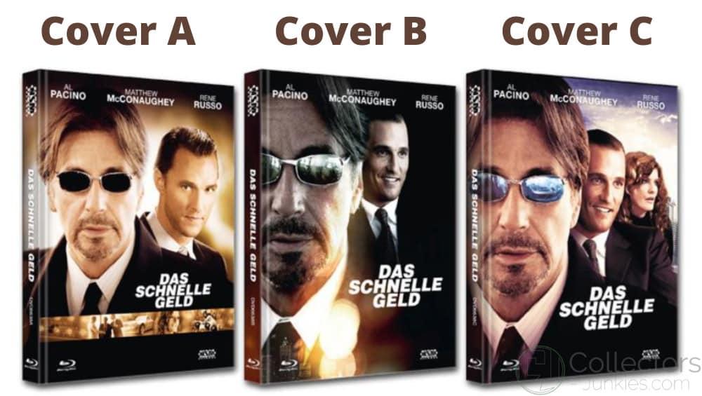"""""""Das schnelle Geld"""" ab November 2021 in 3 Blu-ray Mediabooks"""