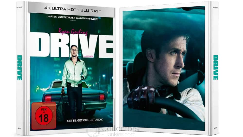 """Drive (2011)"" ab Dezember auf 4K Ultra HD Blu-ray im limitierten Mediabook – Update3"