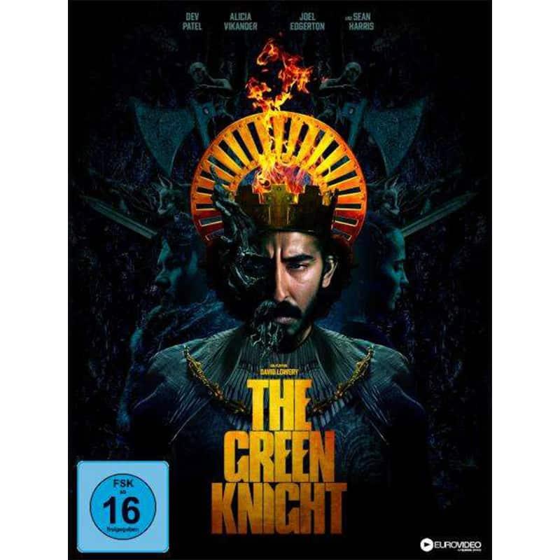 """The Green Knight"" ab Dezember 2021 im 4K Mediabook & als Standard Varianten auf 4K UHD, Blu-ray & DVD – Update2"
