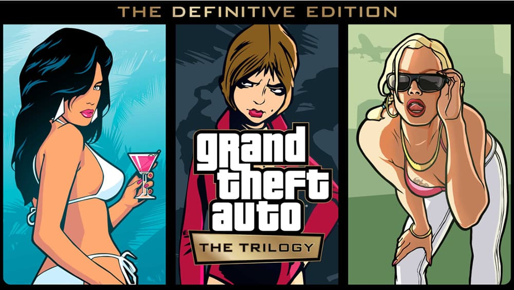 """""""Grand Theft Auto: The Trilogy"""" The Definitive Edition ab 2021 für Playstation, Xbox & Nintendo Switch"""
