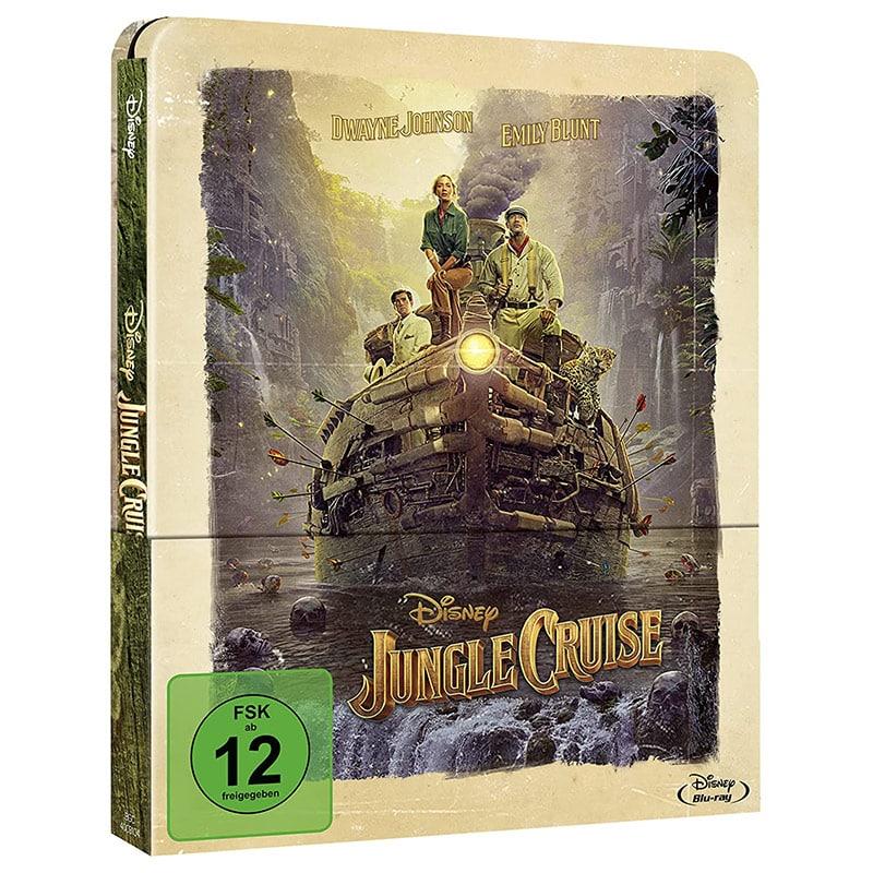 """Jungle Cruise"" im Blu-ray Steelbook für 20,26€"