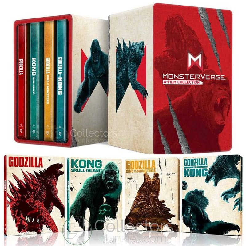 """""""Monsterverse"""" ab Dezember 2021 als 4K-Film Steelbook Collection (8 Discs) – Update2"""