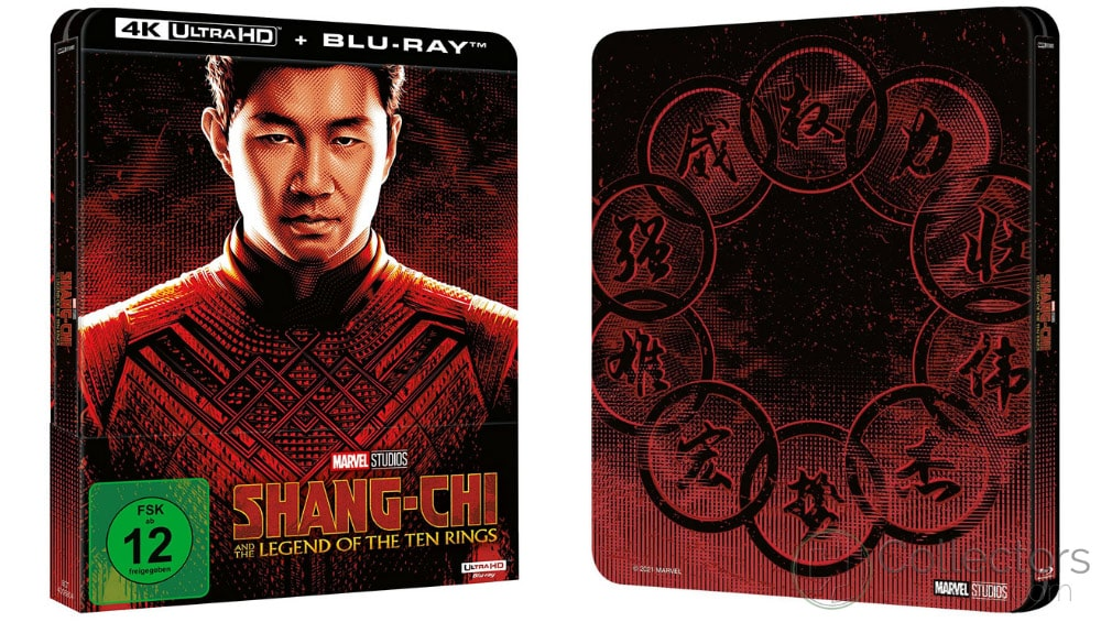 """Shang-Chi and the Legend of the Ten Rings"" ab November 2021 im 4K Steelbook und als Standard Variante auf Blu-ray & DVD – Update"