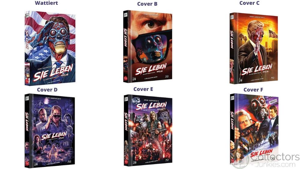 """Sie leben! (1988)"" ab Oktober 2021 in 6 Blu-ray Mediabooks"