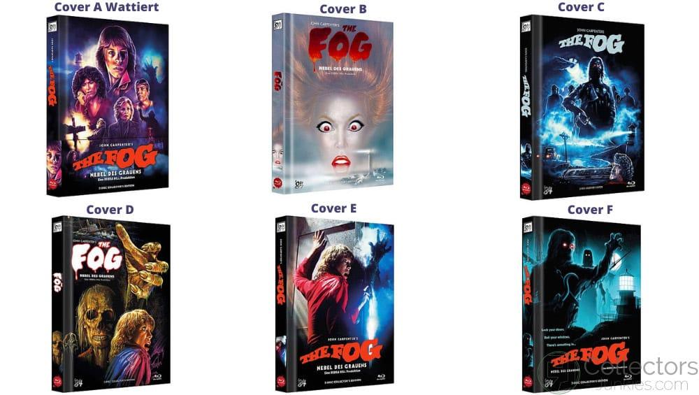 """The Fog – Nebel des Grauens (1980)"" ab Oktober 2021 in 6 Blu-ray Mediabooks"