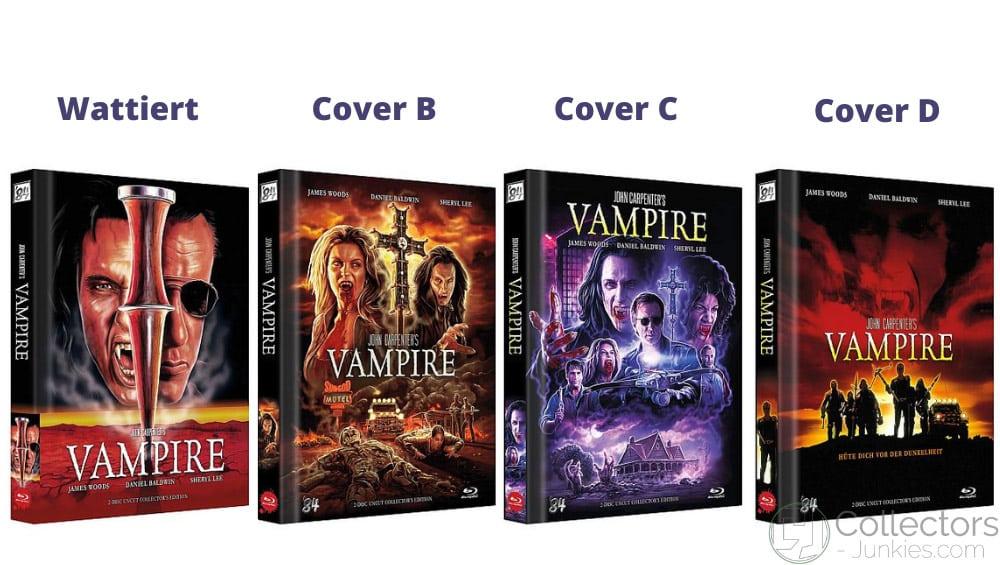 """""""John Carpenters Vampire (1998)"""" ab Oktober 2021 in 4 Blu-ray Mediabooks"""