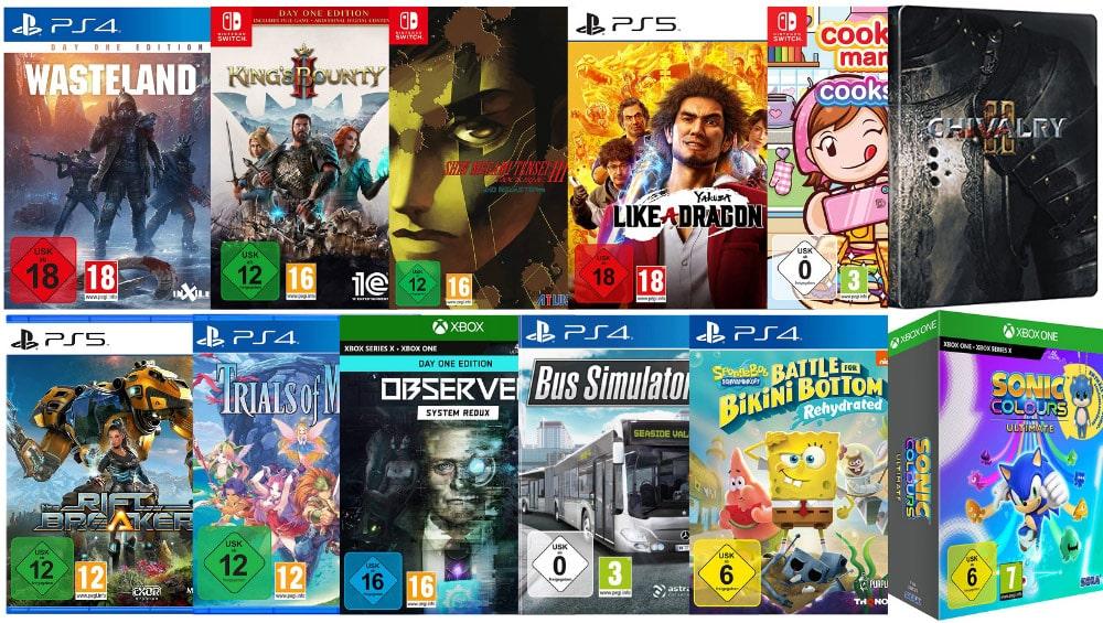 Videospiele reduziert bei Gamestop & Amazon – unter anderem: Observer: System Redux für 19,99€ | Chivalry 2 Steelbook Edition PS5 für 29,99€
