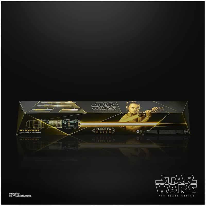 Rey Skywalker Force FX Elite Lichtschwert (Hasbro | Star Wars The Black Series) – Update